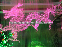 Beautiful&magical Energy-saving led light solar fiber optics lights