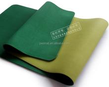 soft reversible yoga mat in folded