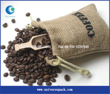 Durable jute bag cocoa beans for promotions