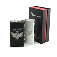 Most popular portable vaporizer smoking pipe tesla120w box mod evod vaporizer wholesale