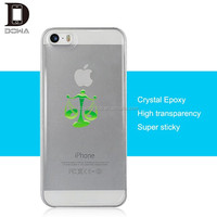 Real PU crystal skin case for iPhone