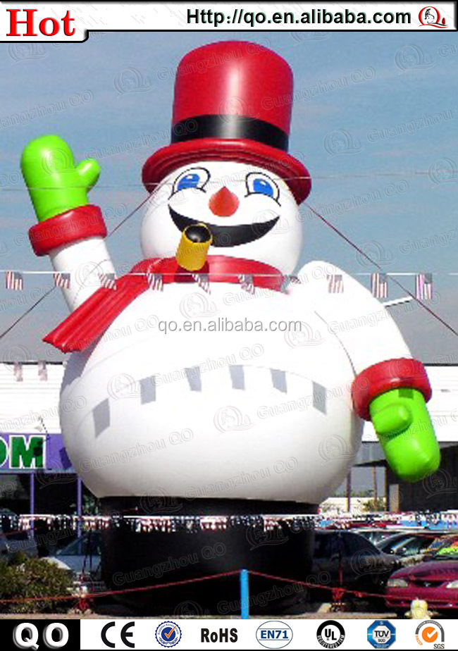 2015 newly customized outdoor giant inflatable abominable for Abominable snowman outdoor christmas decoration