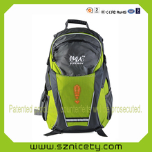 Security LED backpack for journey
