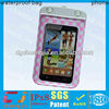 new design fancy waterproof bag for samsung galaxy note with IPX8 certificate