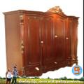 de lujo 2014 sólidos muebles de madera de cuatro en el pecho de la puerta hecha a mano classica