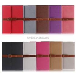 Fashion leather case for ipad 2 3 4, for ipad 4 pu leather case