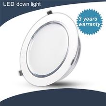 High quality ultra-slim 120v dc led downlight 120mm