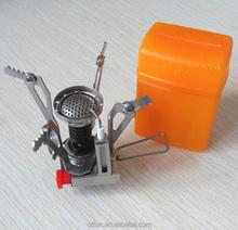 Outdoor camping mini portable gas burner