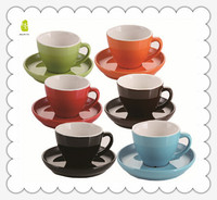 wholesale ceramic custom printed tea cups and saucers with low price