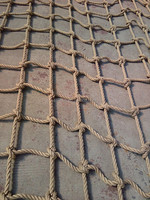 good quality 3-strand sisal rope net in China factory