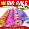 plastic fabric poly deco mesh fabric goods from china