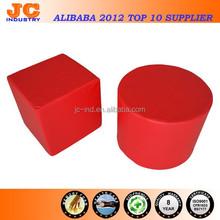 Pouf Foam Cube Ottoman