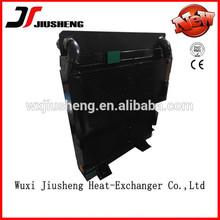 una buena refrigeración de alta presión de la placa de la aleta y resistente del radiador para maquinaria de ingeniería