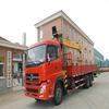 china hot sale 12ton telescopic boom truck loader cranes