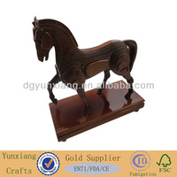 Decorative horse made by wood