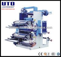 UTOPLAS Brand Best Selling two color flexo printing machines