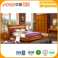 8A001 beautiful wood beds modern furniture bedroom