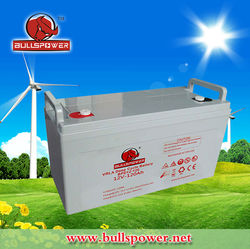 Latest hotsale 12v 120ah 24v 120ah battery heavy duty battery 24 volt marine battery BPD12-120