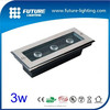 LED inground light in led ground buried light 3W with CE ROHS
