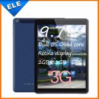 Original 9.7 inch Cube i6 air 3G Dual OS With Win 8.1+Android 4.4 Intel Z3735F Quad Core 2GB RAM +32GB ROM 5.0MP 8000mah GPS