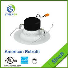 3 inch 7w hotsale SMD epistar anti-glared led downlights for Eupore with CE ROHS