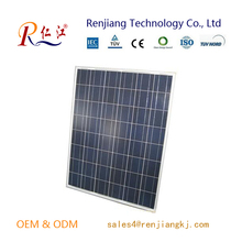 Famous brands 210W high efficiency poly solar panel with full certificate