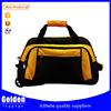 2015 China Baigou men's sport gym leisure tote bag cayyy on travel duffel trolley bag