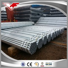 alibaba china building material st37 0.5mm-12mm galvanized steel pipe