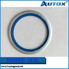 hydraulic high quality self centering bsp bonded seal sealing washer bonded washer -all size available