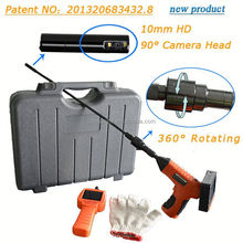transmitter and locator for plumbing work pipe inspection cctv pipeline 12pcs led lights sewer drain camera 20M