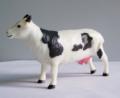 suministrar resina decoración vaca de plástico