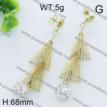 2015 Fashion Elegant Jewelry wholesale silver owl drop earring jewelry summer 2014