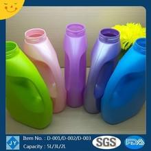 5L/3L/2L HDPE Bottle Round for Laundry, Liquid Detergent