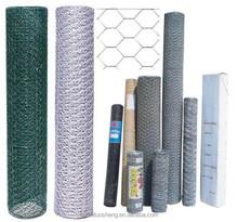 (Manufacturer) Galvanized/PVC coated Hexagonal Wire Mesh /Livestock Wire Netting