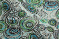 2014 de alta calidad de lentejuelas bordado neto de tela