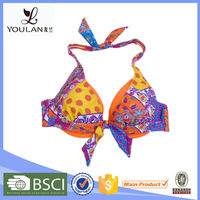 Best Brocade Halter Hot Girl Sexy Micro Bikini Girl Image For Women