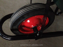 construction tool steel bucket wheelbarrow wb3800 in Mozambique market green colour best price