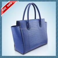 China Supplier Wholesale High Class Fashion Designer Crocodile Handbags Ladies