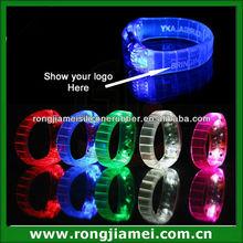 Flashing Led Light Up Blinking Led Bracelet Remote Party Favor Rave