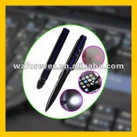 4 in 1 Red Laser Pointer LED Light Ball Pen And Stylus Touch Screen Stylus Pen