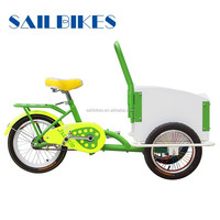 new style pedal front loading cargo tricycle for kids