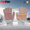 100% polyester safety knitted cotton work glove