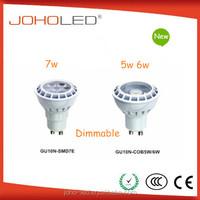Powerful 5w 6w 7w 9w 11w 100-240v gu10 Led spotlight with super brightness COB