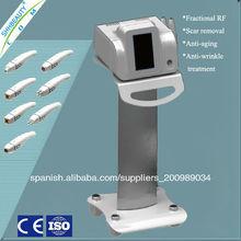 No Needle RF fraccional para eliminar las arrugas y la piel de apriete