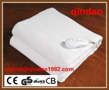 100% polyester electric blaket electric bed warmer