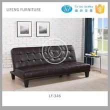 Click clack PU sofa bed, LF-346