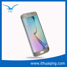 0.2mm Color Full Cover Screen Protector For samsung s6 edge with design 3D Curved edge