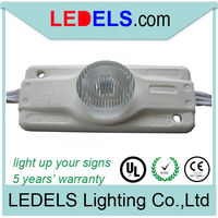 ledels lighting led module lighting Powered by Osram led,2.8W 12V 250lumens edge lit high power light box led module