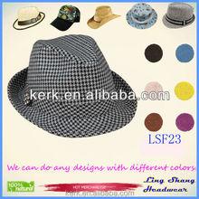 LSF23 2015 Fashion Jazz Caps Fedoras Straw Adult Summer Sun Hats for Men Beach Floppy Panama