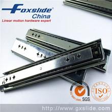 3 Fold 53mm floor mount ball bearing drawer slide